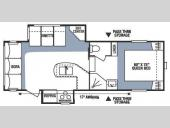 Floorplan - 2008 KZ Sportsmen S245RL2