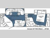 Floorplan - 2008 Carriage Domani DF302