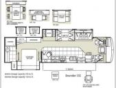 Floorplan - 2009 Fleetwood RV Bounder 35E