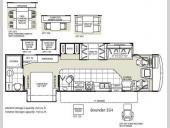 Floorplan - 2009 Fleetwood RV Bounder 35H