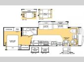 Floorplan - 2003 Fleetwood RV Bounder 35R