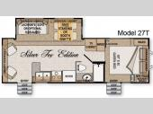 Floorplan - 2009 Northwood Arctic Fox 27T