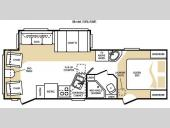 Floorplan - 2009 Keystone RV Cougar 25RLS