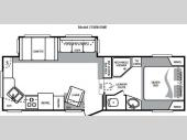 Floorplan - 2010 Keystone RV Cougar 278RKSWE