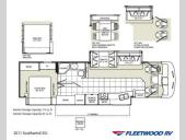 Floorplan - 2011 Fleetwood RV Southwind 35J