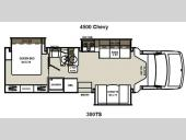 Floorplan - 2013 Coachmen RV Concord 300TS Chevy