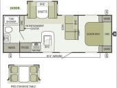 Floorplan - 2013 Starcraft  Autumn Ridge 245DS