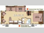 Floorplan - 2013 Outdoors RV Creek Side 26RLS