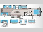 Floorplan - 2013 Jayco Jay Flight 33BHTS