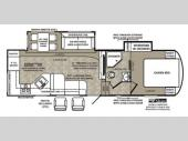 Floorplan - 2014 Forest River RV Wildcat 282RKX eXtraLite