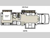 Floorplan - 2014 Coachmen RV Concord 300TS Ford