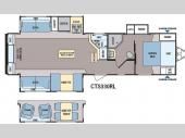 Floorplan - 2014 Dutchmen RV Coleman Expedition CTS330RL