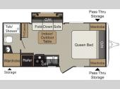 Floorplan - 2015 Keystone RV Passport 199ML Express