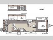 Floorplan - 2016 Forest River RV Rockwood Ultra Lite 2904WS