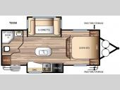 Floorplan - 2016 Forest River RV EVO T2050