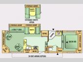 Floorplan - 2007 Jayco Jay Flight 30.5RLS