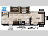 Floorplan - 2016 Grand Design Imagine 2600RB