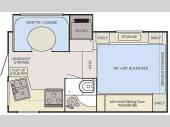 Floorplan - 2017 Adventurer LP (ALP) Adventurer Truck Campers 86SBS
