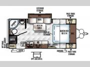 Floorplan - 2016 Forest River RV Rockwood Mini Lite 2109S