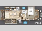 Floorplan - 2017 Grand Design Solitude 310GK