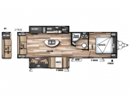 New 2018 Forest River RV Wildwood 27REI