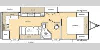 Floorplan - 2017 Coachmen RV Catalina Legacy 253RKS