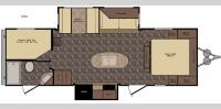 Floorplan - 2017 CrossRoads RV ReZerve RTZ26KS