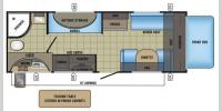 Floorplan - 2017 Jayco Jay Feather 7 20XTG