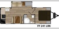 Floorplan - 2017 Cruiser Fun Finder XTREME LITE F-241LRK