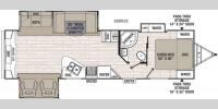 Floorplan - 2017 Coachmen RV Patriot Edition 298REDSLE