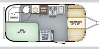 Floorplan - 2017 Airstream RV International Signature 19