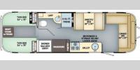 Floorplan - 2017 Airstream RV International Serenity 30 Twin