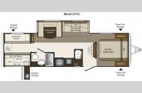 Floorplan - 2011 Keystone RV Laredo Super Lite 291TG