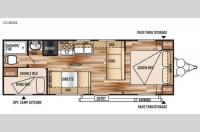 Floorplan - 2015 Forest River RV Wildwood X-Lite 261BH