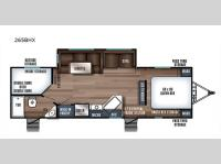 Floorplan - 2017 Forest River RV Wildcat Maxx 265BHX