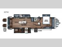 Floorplan - 2017 Forest River RV Wildcat Maxx 32TSX