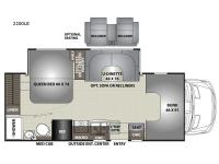 Floorplan - 2017 Coachmen RV Prism 2200 LE