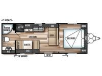 Floorplan - 2017 Forest River RV Wildwood X-Lite 241QBXL