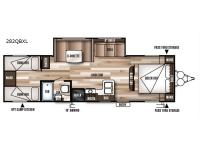 Floorplan - 2017 Forest River RV Wildwood X-Lite 282QBXL