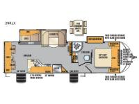 Floorplan - 2017 Forest River RV Wildcat Maxx 29RLX