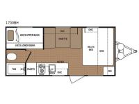 Floorplan - 2017 Dutchmen RV Aspen Trail 1700BH