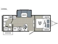 Floorplan - 2017 Dutchmen RV Kodiak Ultimate 230RBSL