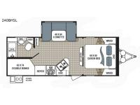 Floorplan - 2017 Dutchmen RV Kodiak Ultimate 240BHSL