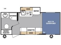 Floorplan - 2017 Forest River RV R Pod RP-180