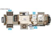 Floorplan - 2017 Grand Design Solitude 375RES