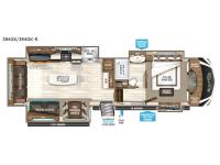Floorplan - 2017 Grand Design Solitude 384GK