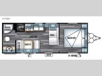 Floorplan - 2017 Forest River RV Salem Cruise Lite 241QBXL