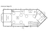 Floorplan - 2017 Ice Castle Fish Houses American Eagle