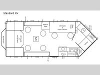 Floorplan - 2017 Ice Castle Fish Houses Standard Hybrid RV