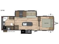 Floorplan - 2017 Keystone RV Springdale 287RB